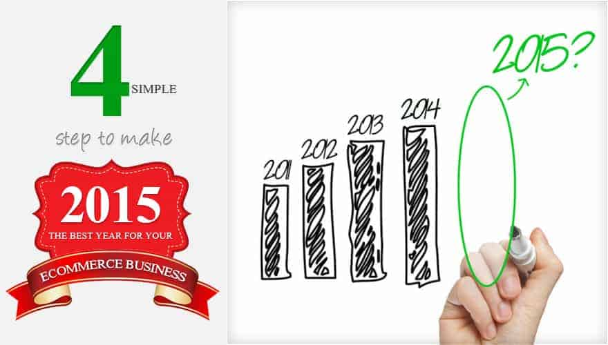 4 Simple Steps to make 2015 the best year for your ecommerce business